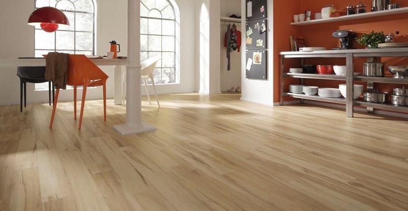 Suelo de madera laminado